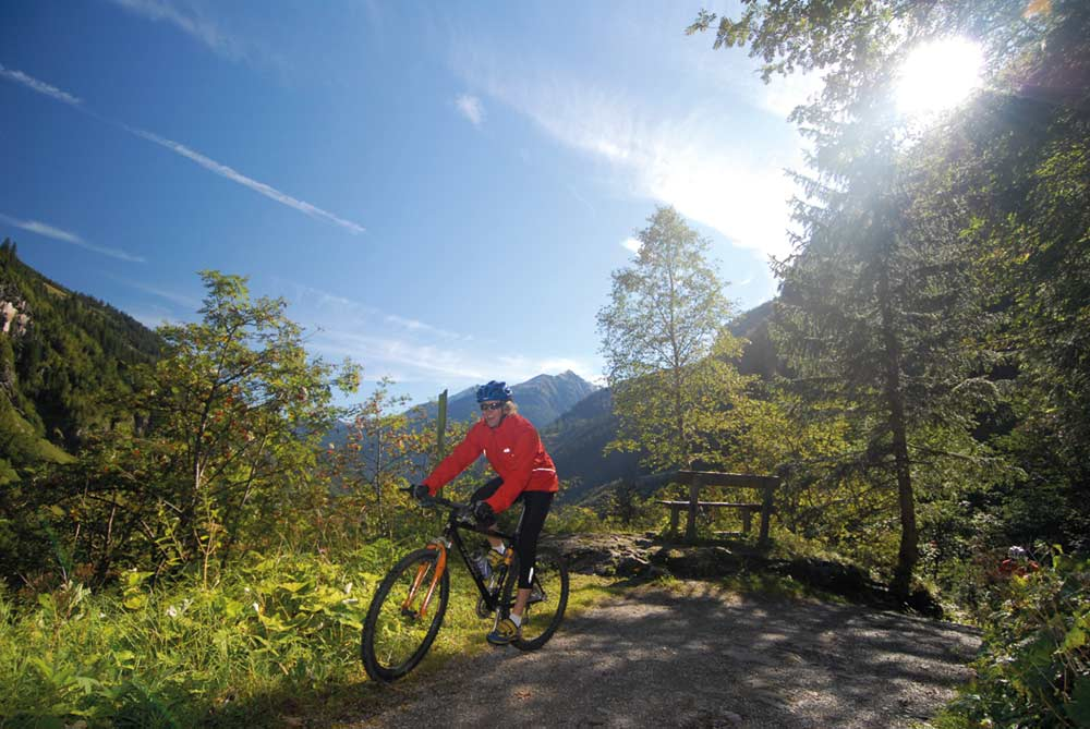Biken in Gastein