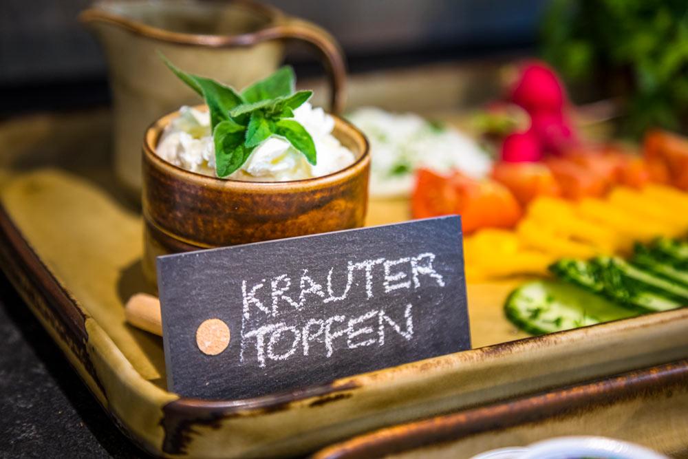 Kräuter Topfen
