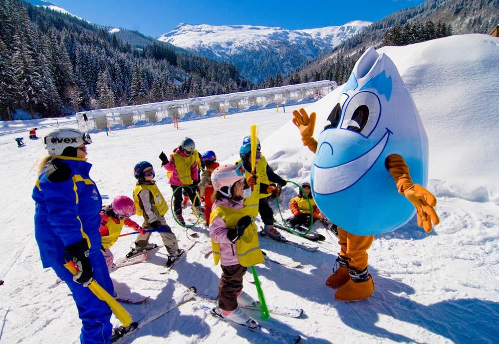 Skifahren lernen mit Gasti