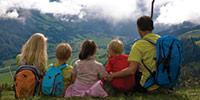 Fammilienurlaub in den Bergen