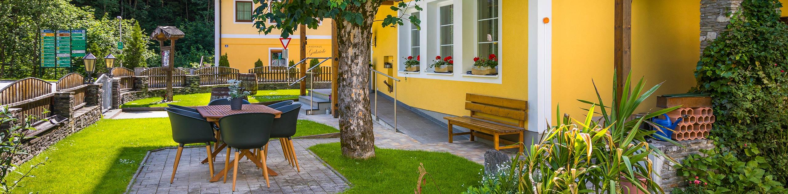 Garten Pension Gabriele