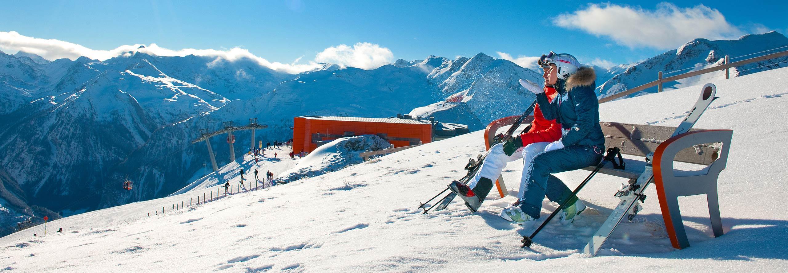 Skigebiet Gasteinertal - Stubnerkogel