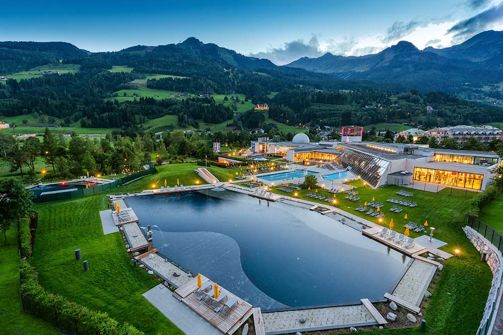 Thermalwasser Badeseen in Gastein